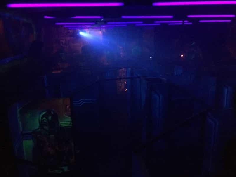 バンコクのレーザーサバイバルゲーム