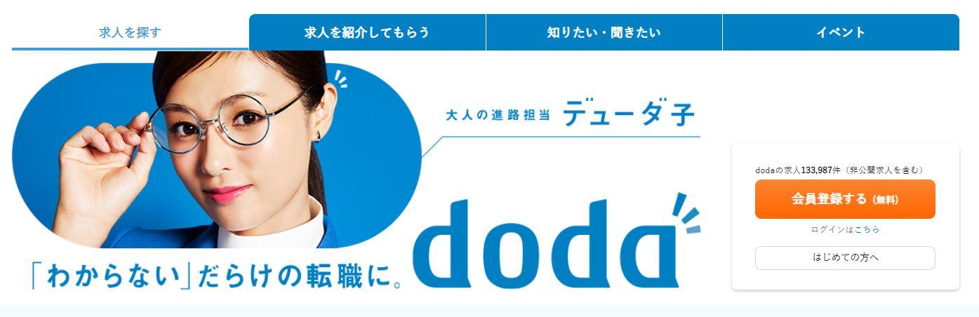 dodaデスクトップ画像