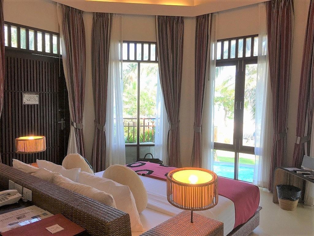Cham's-Houseの部屋のベッド画像