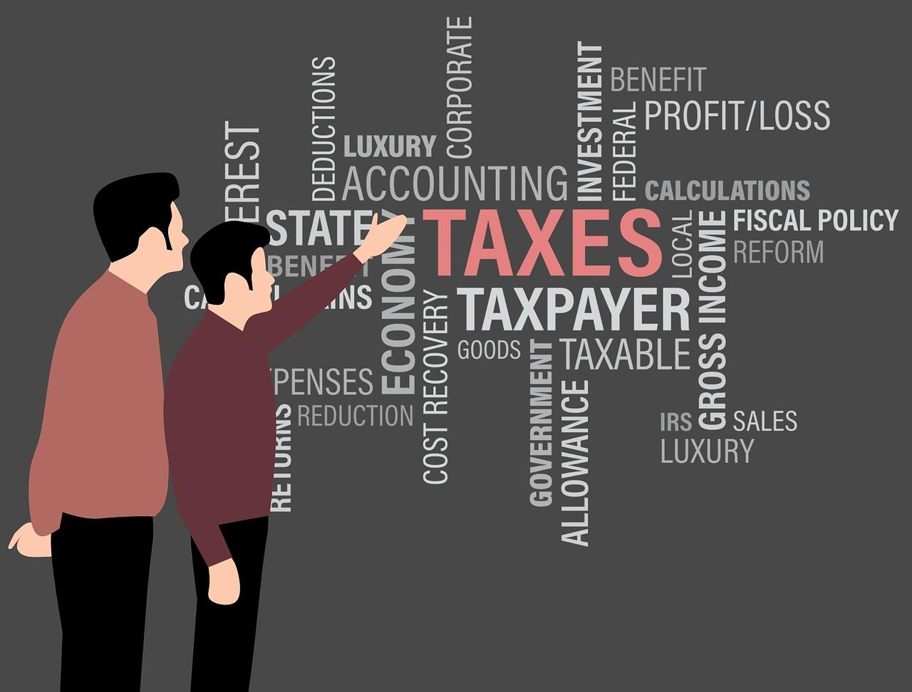 taxのテキスト