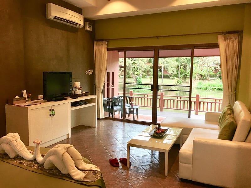 ランパーン県で泊まったホテル