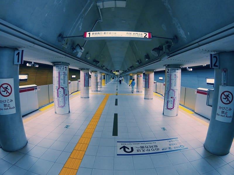 地下鉄、メトロの駅