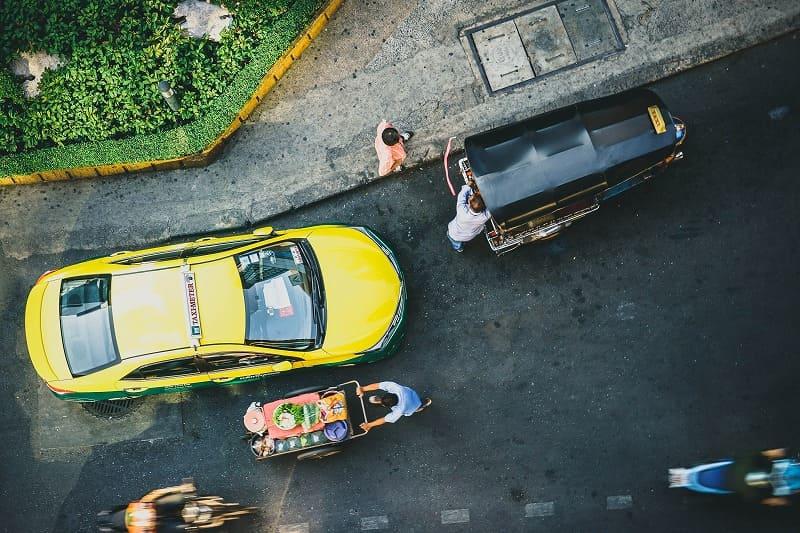 タイのタクシーの注意点