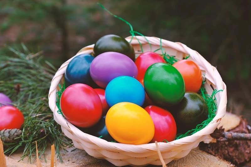 カラフル卵