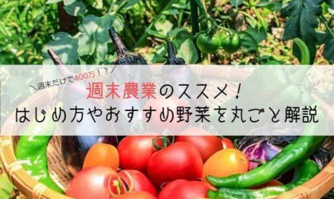 副業で農業