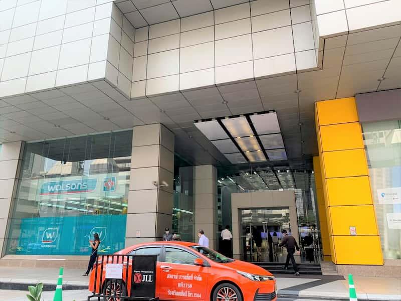 タイで新型コロナウイルス保険に加入したビル