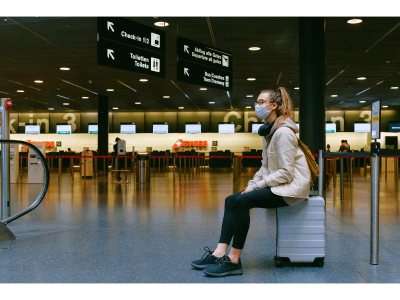 空港での感染予防対策