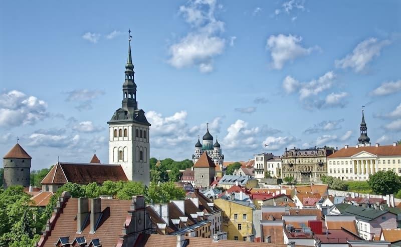 エストニアのタリンの画像