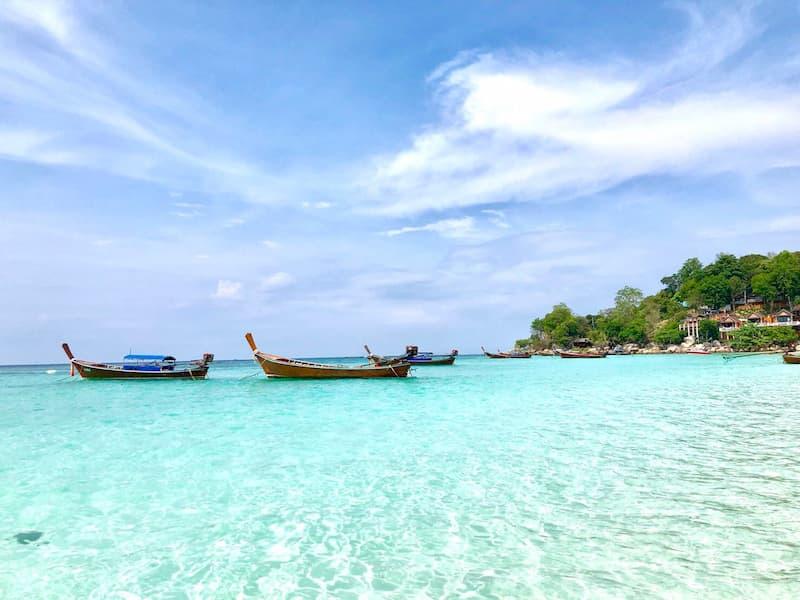 リぺ島の海の画像